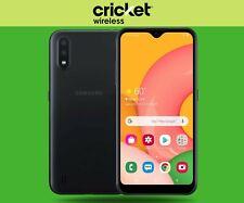 BRAND NEW! Samsung Galaxy A01 - 16GB - Black (Cricket Wireless) Original!