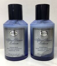 2 pc The Art of Shaving After Shave Lotion Ocean Kelp 3.4 oz UNBOXED