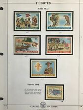 Boy/Girl Scouts Stamps on Pages - Make an Offer #1