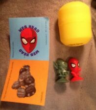 Frankford Wonder Ball Spider Man And Mystery Villain ( 1 Inch Toy ) And Sticker