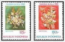 Timbres Flore Indonésie 874/5 ** lot 15839