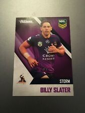 2017 BILLY SLATER MELBOURNE STORM AUSTRALIAN NRL TRADERS RUGBY LEAGUE CARD EXC
