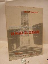 Emilio Grosso: La pietra del Carnefice, Logos 1988, Romanzo, Narrativa