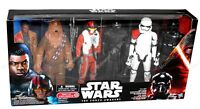 The Force Awakens Exclusive 6 Action Figure Set Finn Chewbacca Poe Kylo Trooper