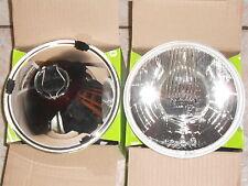 Optiques de phares  Diamètre 176 mm CIBIE blanc en H4 fixation USA Neuf origine