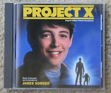 Project X Original Motion Picture Soundtrack James Horner CD Limited Edition