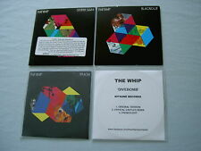 THE WHIP job lot of 4 promo CD singles Blackout Divebomb (Crystal Castles Remix)