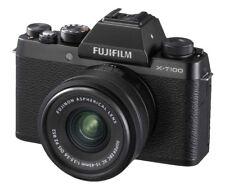 Fujifilm X-T100 24.2MP Digital Camera - Black (Kit with XC15-45mm F3.5-5.6 OIS PZ Lens)