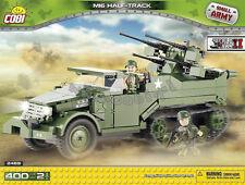 Cobi blocks Half Track M16 self-propelled anti-aircraft gun Tank bricks 2469