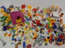 14 ) Playmobil 17 Figuren -  viele Teile Zubehör Geschirr Tiere Zelt ua.