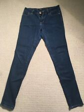 Riders by Lee - Dark Navy - Bumster Super Skinny - Size 11