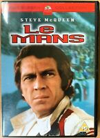 Le Mans DVD 1970 Racing Car Grand Prix Film Classic starring Steve McQueen
