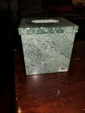 Green Marble Tissue Box cover