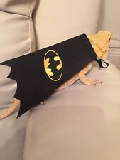Bearded Dragon Batman cape photo prop Costume Hammock Reptile Rat Accessories