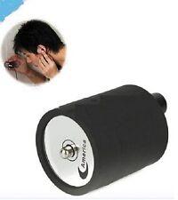 Black Spy Ear Amplifier Bug Wall Listening Device Audio Listening Wiretap Device