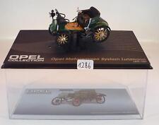Opel Collection 1/43 Opel Motorwagen System Lutzmann 1899/1901 i Plexi Box #1286