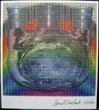 Blotter art Spectrum Synthesis Dr. David E Nichols signed Rafti