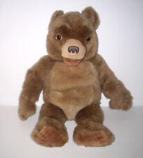 """16"""" Maurice Sendak LITTLE BEAR Plush Laughs & Talks Kidpower"""