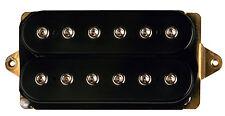 DiMarzio DP104 Super 2 Humbucker Electric Guitar Pickup - BLACK F-SPACING
