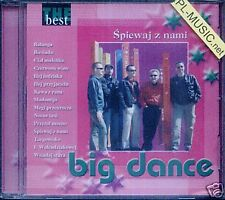 = BIG DANCE - SPIEWAJ Z NAMI (THE BEST) // CD sealed DISCO POLO