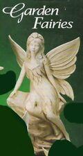~Gare Ceramic Bisque Lg Sitting Garden Fairy Ready to Paint ~