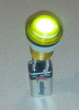 Yellow illuminated arcade button with led and microswich