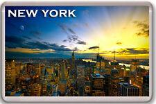 NEW YORK #3 FRIDGE MAGNET SOUVENIR IMÁN NEVERA