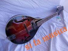 ROLING'S mandolino elettrificato cassa piatta tipo Portoghese x Etno Folk music