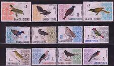 SAMOA Sc# 265-74B CPL MNH BIRDS