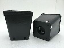 VASI PLASTICA QUADRATI cm  9 / 9x9x10 / 9x9x13 / 9x9x20 - VIVAIO FIORI / 20 vasi