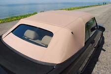 Saab 900 Black  German canvas Convertible Top 1987-1994 Tan