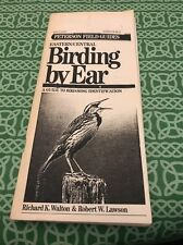 Peterson Field Guide Eastern/Central Birding By Ear Manual FREE SHIPPING
