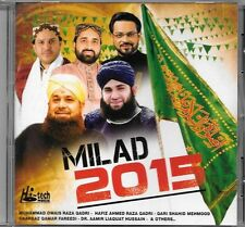 Milad 2015 - Neuf Original PAKISTANAIS Naats CD