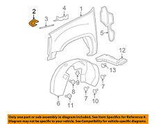GM OEM-Fender Brace Right 15185450