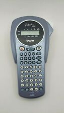 Brother P Touch 1000 Label Maker Model Pt 1000 No Power Adapter No Tapes L Blue