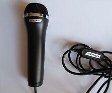 Official Konami Logitech USB Microphone - Black - Wii/Xbox 360/One/PS2/3/4