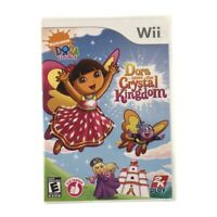 Dora the Explorer: Dora Saves the Crystal Kingdom (Nintendo Wii, 2009) CIB