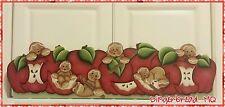 HP Made to order, Gingerbread, Apples, Door Topper, Cinnamon Sticks, Door Crown