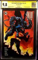 DC Comics DK III MASTER RACE #6 CGC SS 9.8 Jim Lee 1:500 BATMAN JOKER CATWOMAN