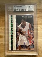 LeBron James Rookie BGS 8.5 Top Prospects Power Card #60 INVEST INFLATION HEDGE