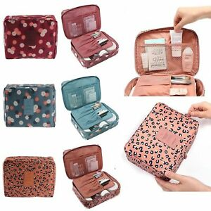 Expandable Travel Hanging Wash Bag Toiletry Organizer Women Make Up Pouch UK
