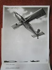 PHOTO PRESSE UNITED AIRCRAFT CANADA PT-6 FAIRCHILD HELIPORTER N187H STOL PILATUS