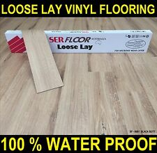 Timber look Loose Lay Flooring -  Vinyl Laminate floating floor DIY Floorboards