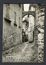 c1920s View of an Old Street, Castasegna, Switzerland