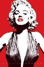 Marilyn Monroe Movie Poster Red Lips Art Print 24x36 inch Large