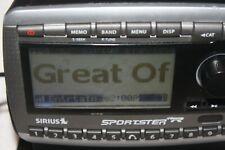 Sirius Sportster Spr2 Satellite Radio Receiver