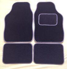 CAR MATS BLACK WITH GREY TRIM FOR CHRYSLER 300C CROSSFIRE DELTA NEON SEBRING