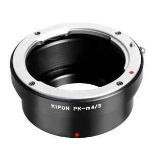 Adaptateur Kipon pour objectifs Pentax K sur boitiers Micro Four Thirds