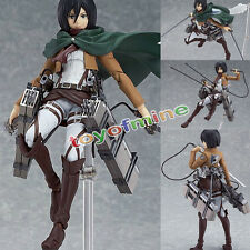 Anime Attack on Titan Shingeki no Kyojin Mikasa Ackerman Figma  Action Figure
