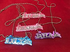 Name Necklace Acrylic Personalized Buy 3 get 1 FREE and FREE Shipping, it's WOW